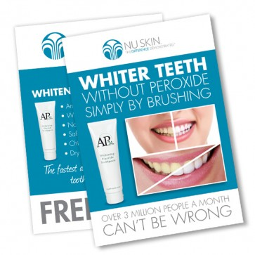 Whitening Toothpaste Flyer
